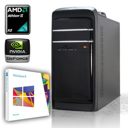 PC [184303] - AMD Athlon II X4 640 4x3.0 GHz Quadcore | 4GB DDR3-1333 | 500 GB SATA2 (3gb/s) | AMD Radeon HD3000 Grafik | 22xDVD-RW | ASUS M5A78L-M LX V2 | 6-Kanal-Sound | GigabitLAN | Cardreader | 420W | Maus + Tastatur | Modding-Gehäuse | Microsoft Windows 8 64-Bit