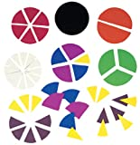 Ideal School Supply Deluxe Fraction Circles