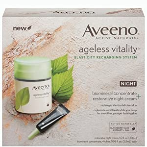 Aveeno Ageless Vitality Restorative Night Treatment