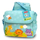 Fisher-Price Precious Planet 2 in 1 Diaper Bag, Blue