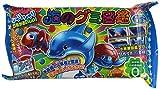 EN CAJA DE 10 pedazos gomoso de libros ilustrados del mar (de juguete caramelo confiter?a educativo) (jap?n importaci?n)