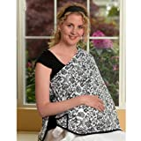 ORGANIC NursEase Breastfeeding Shawl- Organic Medium Beautiful Blooms