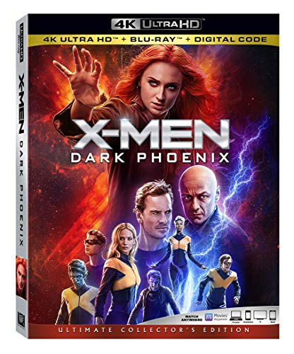 4K Blu-ray : X-men: Dark Phoenix