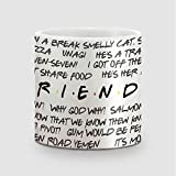 Amey Friends Quotes Coffee Mug - 325 Ml