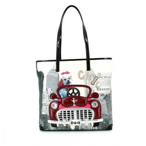Borsa Shopping Braccialini | Crazy Animals | Linea Tua | B9770AI1516-variante unica