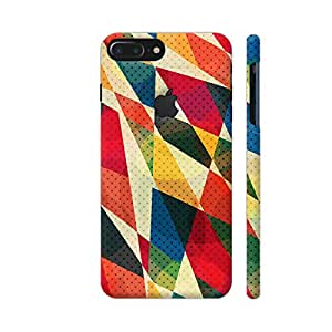 Colorpur Multicolor Enchanted Shade Designer Mobile Phone Case Back Cover For Apple iPhone 7 plus with hole for logo | Artist: Nehal