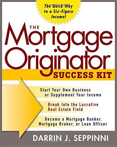 The Mortgage Originator Success Kit PDF