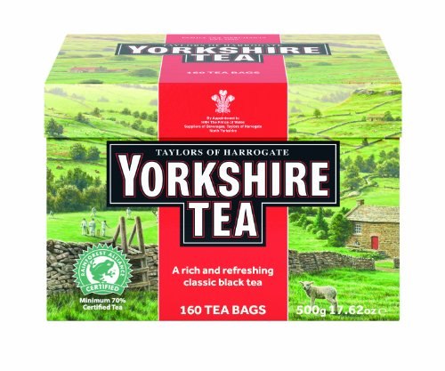 Taylors of Harrogate Yorkshire Tea Bags,  Black Tea, 160 Count