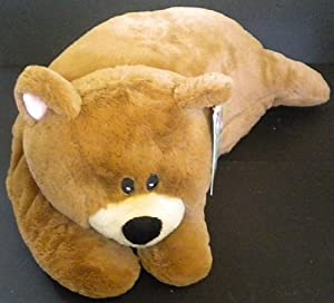 Animal Snuggle Pillows : Amazon.com: Snuggle Buds 3-in-1 Sleeping Bag, Pillow & Plush Animal: Bear: Toys & Games