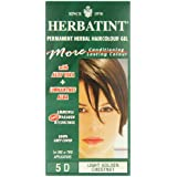 Herbatint 5D Light Golden Chestnut Permanent Herbal Hair Colour Gel 135ml