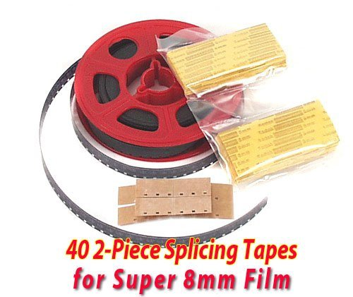 Review Of Splicing Tape Splice Tape for Super 8mm Film / Home Movies -sealed!
