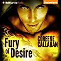 Fury of Desire: Dragonfury Series, Book 4 (       UNABRIDGED) by Coreene Callahan Narrated by Benjamin L. Darcie