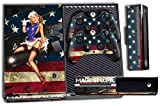 Designer Skin Sticker for the Xbox One Console With Two Wireless Controller Decals- Battle Torn Stripes
