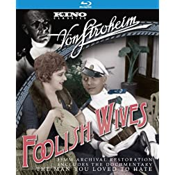Foolish Wives [Blu-ray]