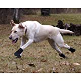 ULTRA PAWS ★ RUGGED BLACK DOG BOOTS ★ All Sizes ★ Water Resistant (XL)
