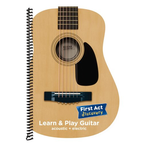 Electronic Instruments Books : First act learn play guitar book falpg arts