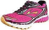 Womens Brooks Ghost 7 Running Shoe Beetroot Purple/Black/Silver Size 8.5 M US