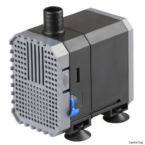 240gph adjustable submersible pump aquarium pond fountain for Small pond water pump