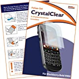 2 x mumbi Displayschutzfolie Blackberry Bold 9900 Displayschutz CrystalClear unsichtbar