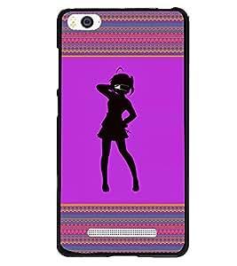 Fuson 2D Printed Girly Designer back case cover for Xiaomi Mi 4i - D4263
