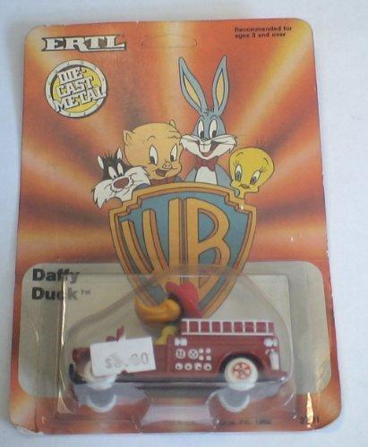 Looney Tunes Daffy Duck Die Cast Fire Truck by ERTL