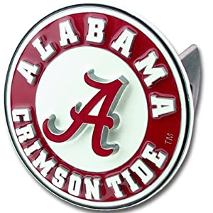 Buy Alabama Crimson Tide College Trailer Hitch Cover by Siskiyou Automotive
