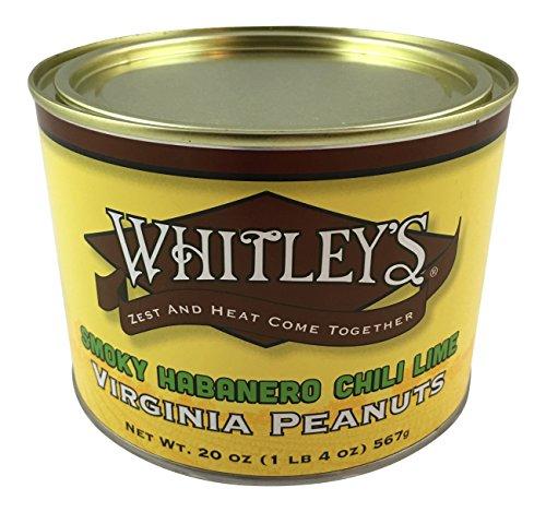 Whitley's Smokey Habanero Chili Lime Virginia Peanuts (Chili Honey Almonds compare prices)