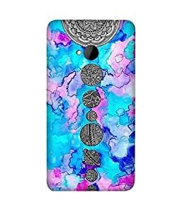Solar System Art HTC One M7 Case