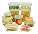 24 Piece Plastic Food Storage Set