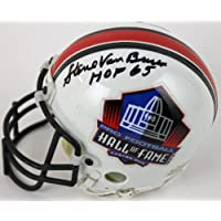 Steve Van Buren Signed Autograph Philadelphia Eagles Mini Helmet Authentic Certified Coa