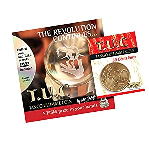 MMS Tango Ultimate Coin with DVD (T.U.C) (E0080) 50 Cent Euro by Tango - Trick