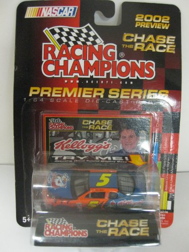 2002 TERRY LABONTE #5 KELLOGG'S CHASE THE RACE 1:64 CAR