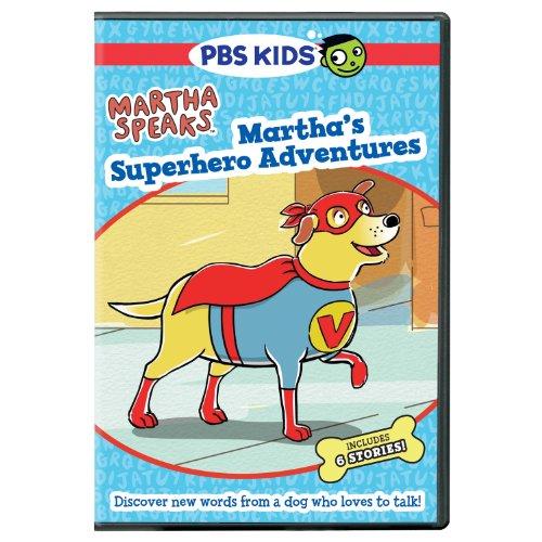 Martha Speaks: Martha's Superhero Adventures [DVD] [Import]