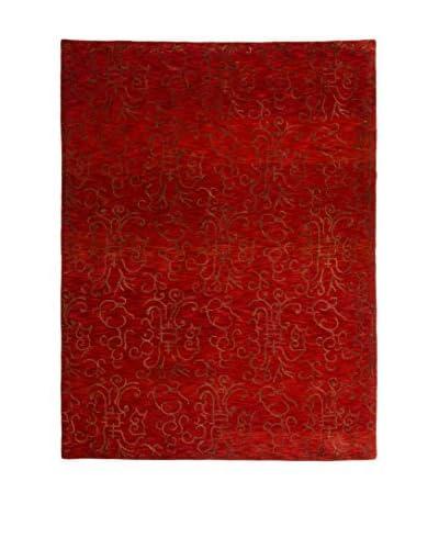 RugSense Alfombra Soft Nepal Rojo