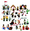 LEGO Education Fairytale and Historic Minifigures Set 4598356 (227 Pieces, 22 Different Figures)