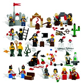 LEGO Education Fairytale and Historic Minifigures Set 779349 (227 Pieces, 22 Different Figures)