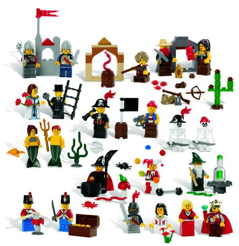 LEGO Education Fairytale and Historic Minifigures Set 779349 (227 Pieces, 22 Different Figures) Amazon.com