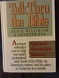 Talk Thru the New Testament (0842369120) by Boa, Kenneth