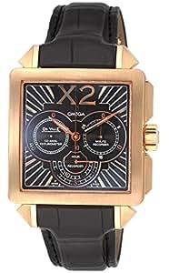 [オメガ]OMEGA 腕時計 デ・ビルX2 ブラウン文字盤 自動巻 K18PG無垢ケース アリゲーター革 423.53.37.50.01.001 メンズ 【並行輸入品】