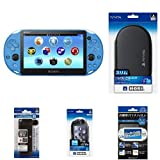 Amazon.co.jpPlayStation Vita Wi-Fiモデル アクア・ブルー(PCH-2000ZA23) + PlayStation Vita用アクセサリ4種 セット