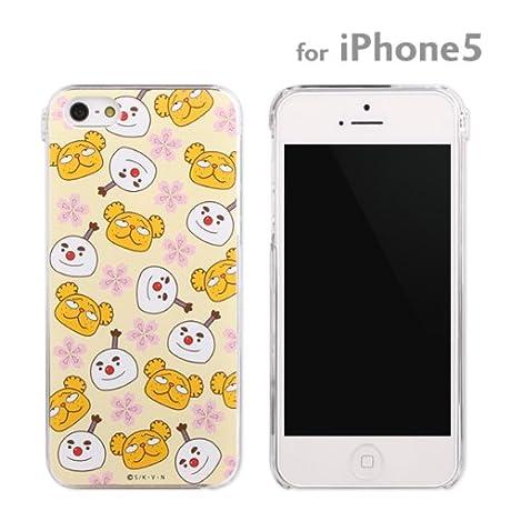 グルマンディーズ iPhone 5 用 ハード ちはやふる JK(スノー丸&Dベア) MCF-01B