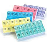Small Two a Day Pill Organizer- Two Pack