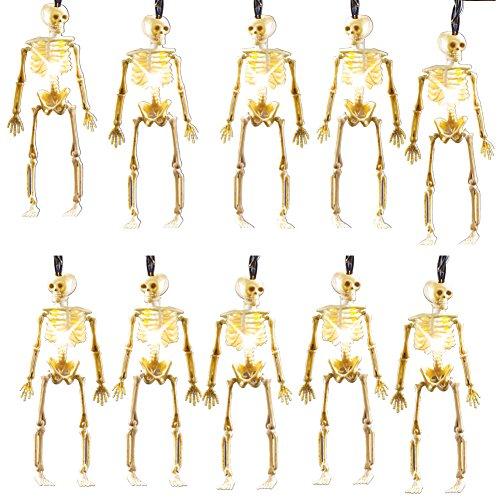 Halloween Skeleton String Lights
