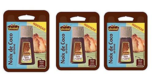 Vahiné - Vanille & Arômes - Arôme Noix de Coco - lot de 3