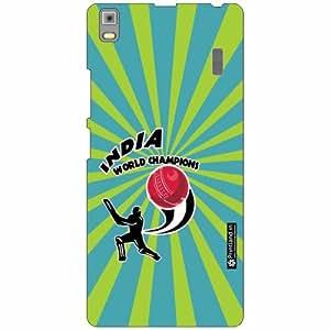 Lenovo K3 Note - PA1F0001IN Back Cover - Silicon Cricket Designer Cases
