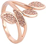 WM Couture Gold Metal Rings for Women (Asdqwe44, 17)