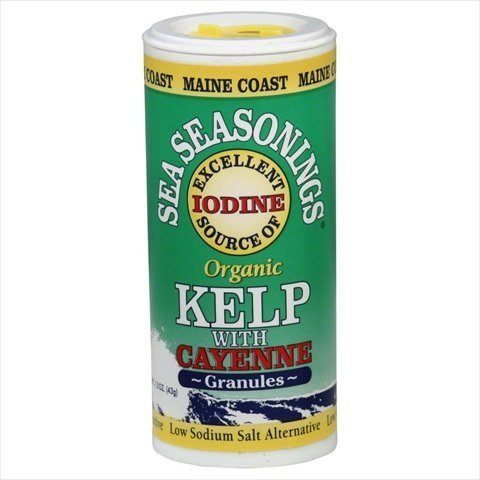 Sea Seasoning Kelp Granules W/ Cayenne 1.50 Ounces