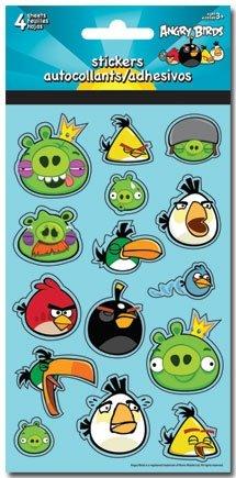 Imagen de (4x8) Calcomanías Angry Birds