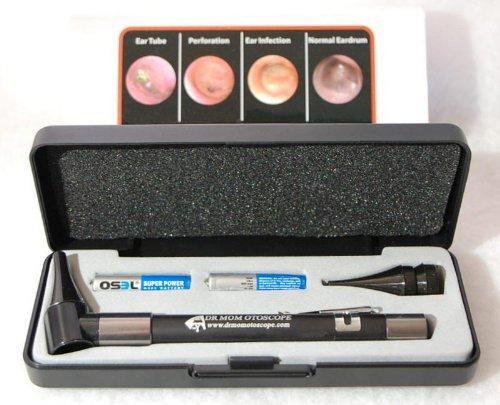 Otoscopio con estuche de caja dura -  Doctor Mom Original