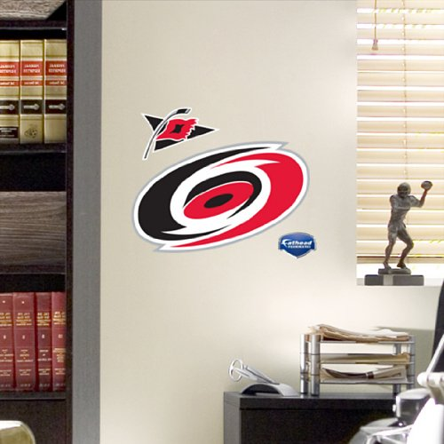 NHL Carolina Hurricanes Fathead Logo